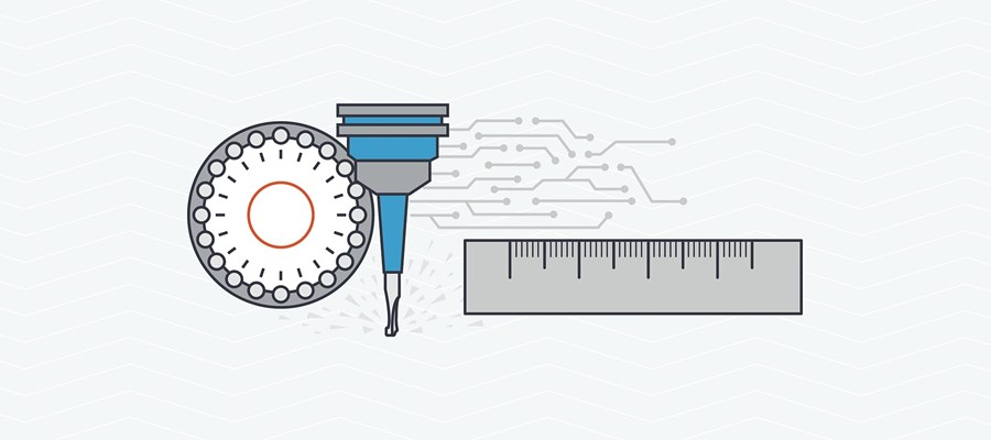 CNC turning capabilities include radial and axial holes